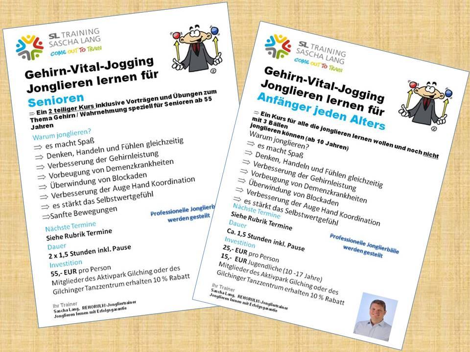 Infos Jonglierkurse